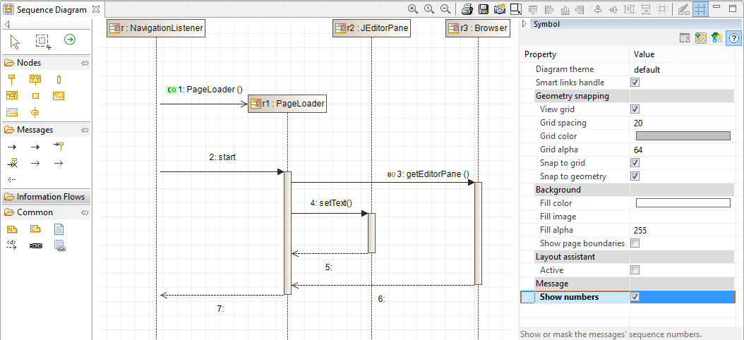 Modelio open source uml and bpmn free modeling tool featured information sequence diagram ccuart Choice Image