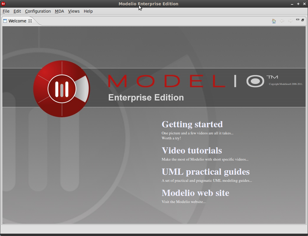 Editing architecture and documentation with modelio. | download.