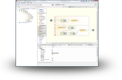 Modelio open source uml and bpmn free modeling tool modelio screenshot ccuart