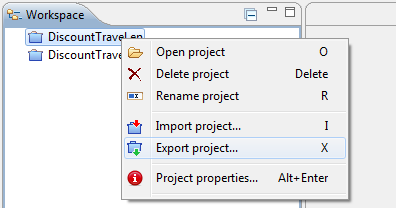 export_project