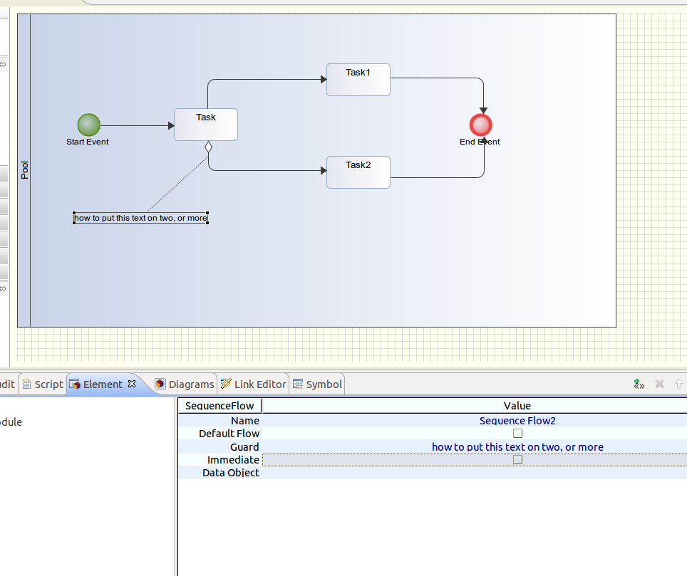 How to resize the guard frame in a diagram modelio forum 2014 04 09 howto resize guard condition in ccuart Gallery